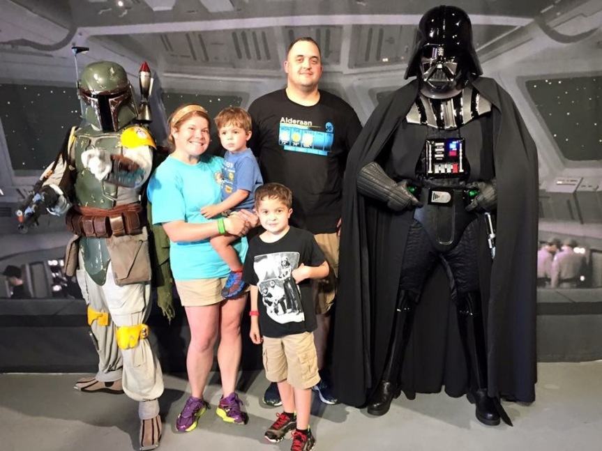 family and vader