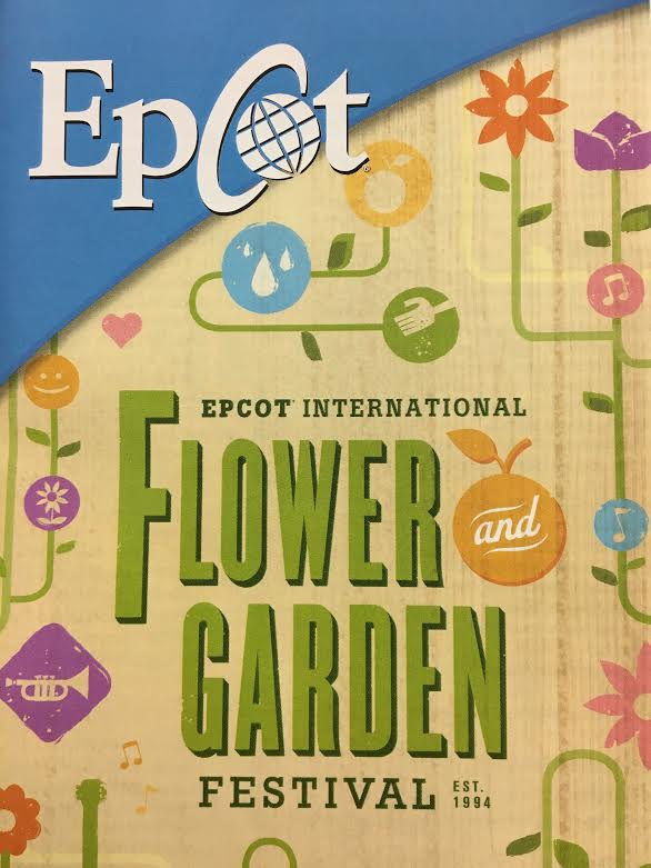2017 epcot flower and garden menus the mickey dudes - Epcot flower and garden 2017 menu ...